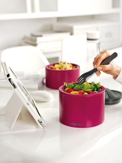 Designos Aladdin ebédtároló a Kitchytől. BPA mentesek, mikrózhatóak, és tökéletesen szigetelnek. Ha minden nap friss ebédet szeretnél, ebben biztosan nem fogsz csalódni. #kitchídesign #kitchen #design
