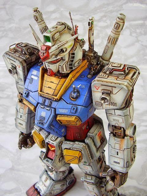 PG 1/60 RX-78-2 Gundam - Custom Build - Gundam Kits Collection News and Reviews