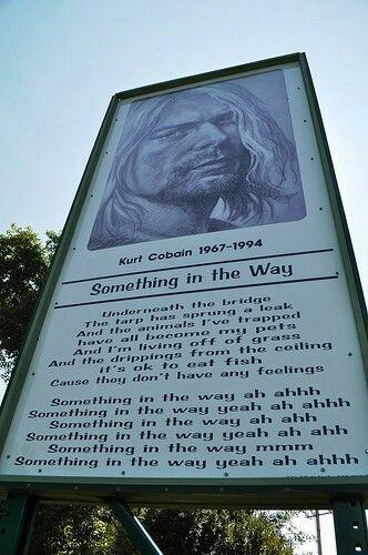 Something in the way, Kurt's park in Aberdeen
