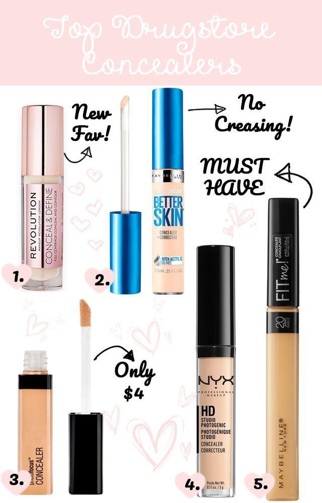 Best Drugstore Concealers Facemoisturizerbeforemakeup In 2020 Best Drugstore Concealer Drugstore Concealer Best Drugstore Makeup