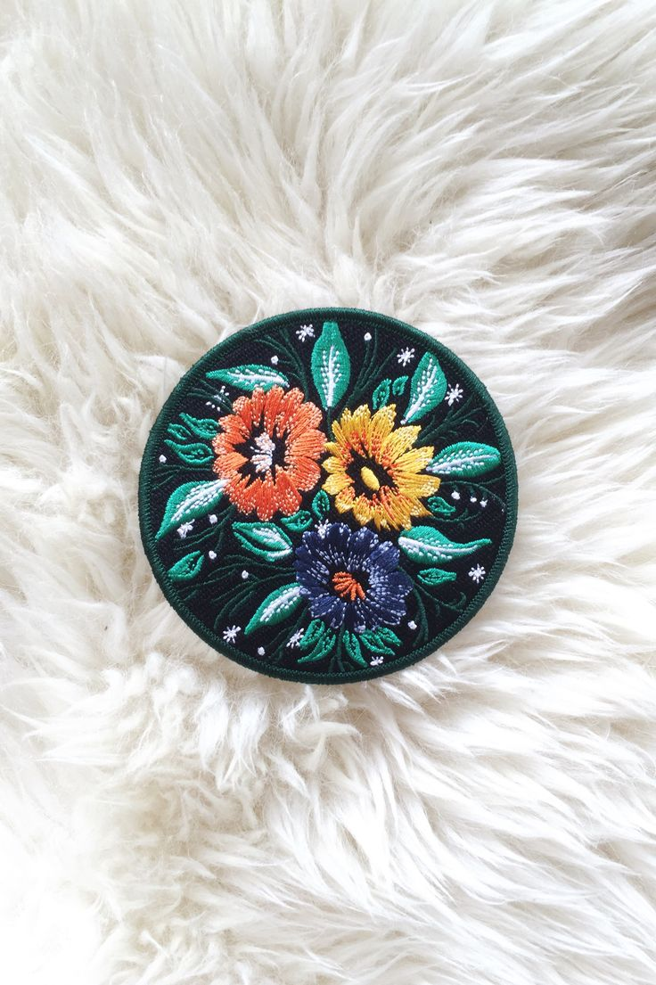 In Bloom Iron-On Patch