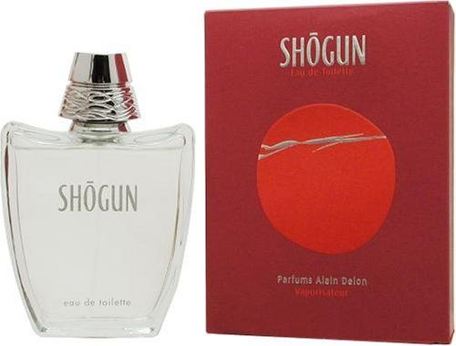 Shogun By Alain Delon For Men. Eau De Toilette Spray 3.4 Ounces by Alain Delon. $29.99. Packaging for this product may vary from that shown in the image above. This item is not for sale in Catalina Island. Launched by the design house of Alain Delon in 2001, SHOGUN is a Men's fragrance that possesses a blend of cinnamon, orange, sage, amber and lavender, fresh and appealing.  It is recommended for daytime wear.Whenapplyingany fragrance please consider that ther...
