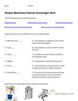 Worksheets Internet Scavenger Hunt Worksheet the 25 best ideas about internet scavenger hunt on pinterest fourth grade simple machines