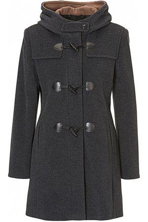 Dames Winterjassen - gil-bret Jas - Midi Long Wool Coat Grey