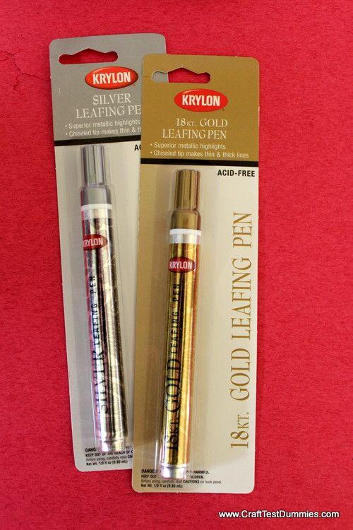 Krylon Leafing Pens | Craft Test Dummies
