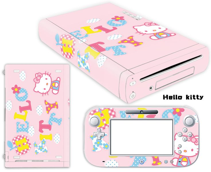 Hello Kitty Vinyl Sticker for Nintendo Wii U Console & Controller //Price: $12.99 & FREE Shipping // World of Hello Kitty http://worldofhellokitty.com/hello-kitty-vinyl-cover-decal-skin-sticker-for-nintendo-wii-u-console-controller-skins-stickers-free-shipping/    #collectibles