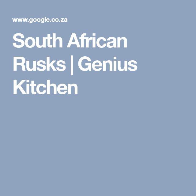 South African Rusks | Genius Kitchen