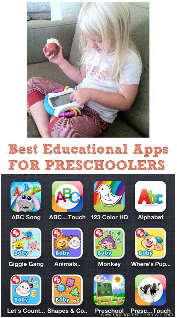 Rage Against the Minivan: best iphone and ipad apps for preschoolers