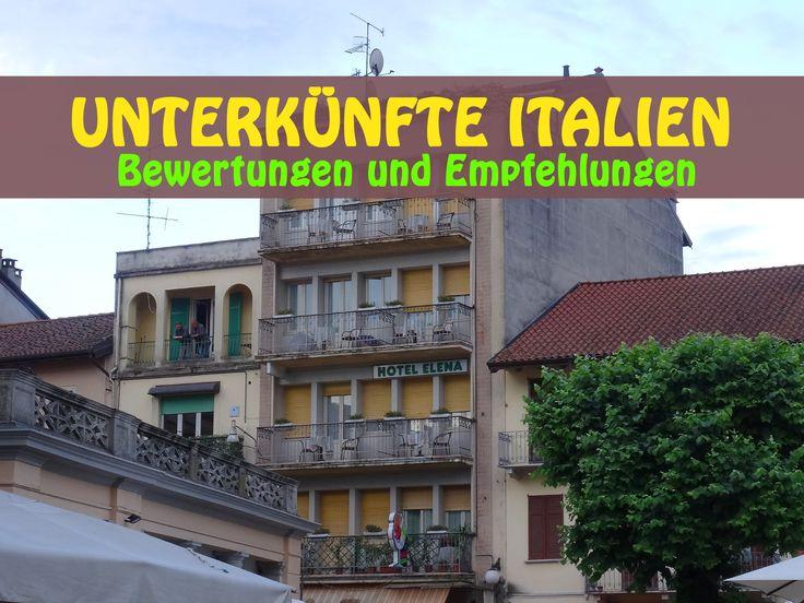 In diesem Artikel stelle ich dir meine Bewertungen und Empfehlungen für die 8 Unterkünfte in Italien vor, in denen ich während meiner Reise übernachtet habe