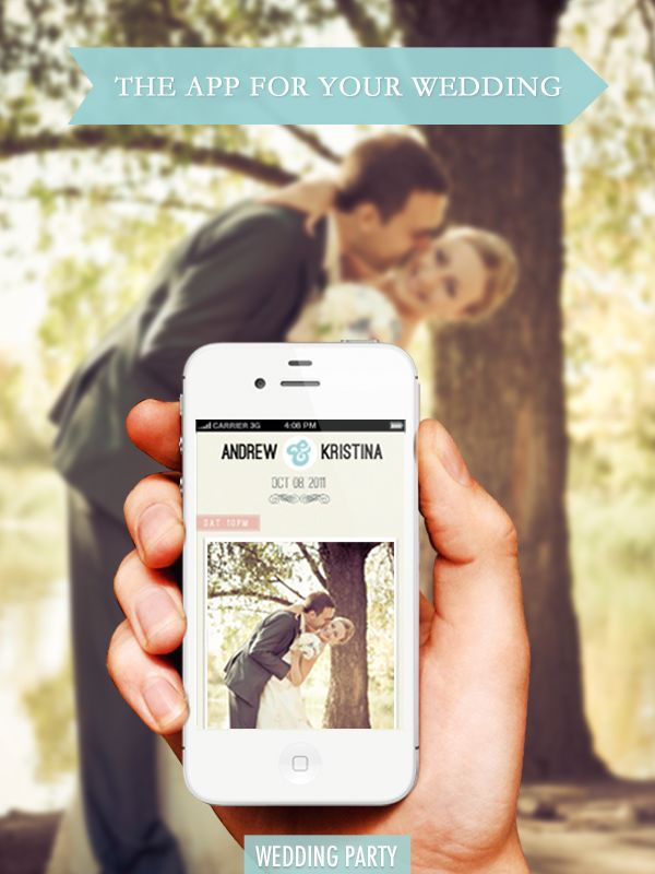 Collect photos from all of your wedding guests in one place. Your guests download the app and you instantly get all your wedding photos in one album! And it's ABSOLUTELY FREE! I'd love this!