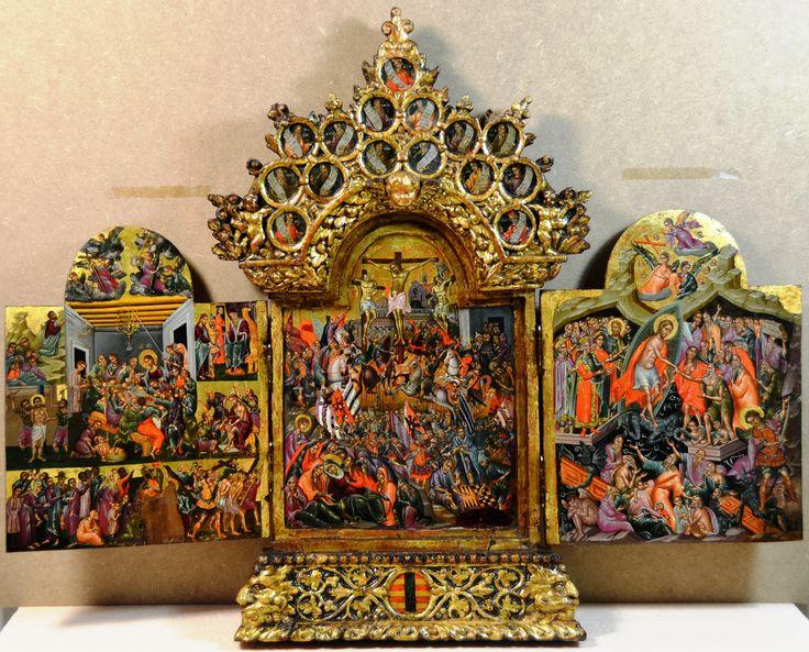 George Klontzas magnificient triptych(open) H.Korban collection