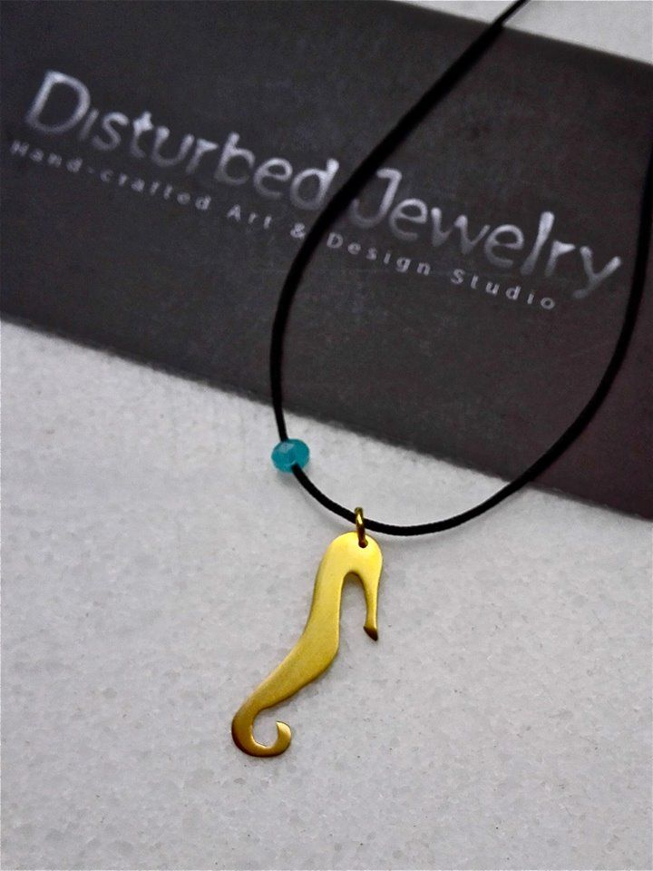 When #seahorses find a mate, they wrap their tails around each other, so the tide doesn't drift them apart. They have that one mate for the rest of their lives. Amazing tiny creatures! #disturbedjewelry #SS15 #summerjewelry #sealife #naturelovers