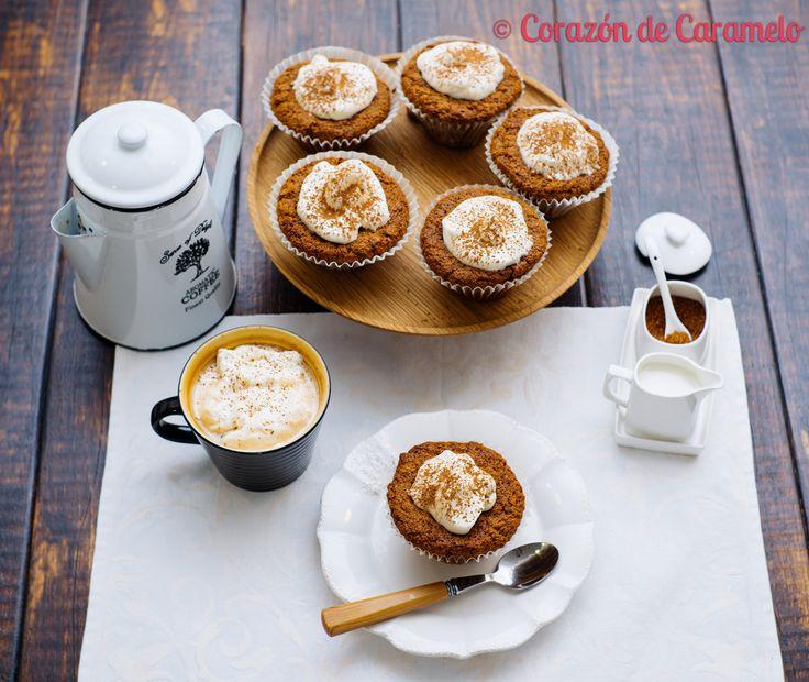 https://flic.kr/p/t5N4hj | Muffins de café y avena | Blog Corazón de Caramelo www.corazondecaramelo.es