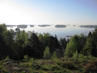 Näkymä Viikinkikalliolta