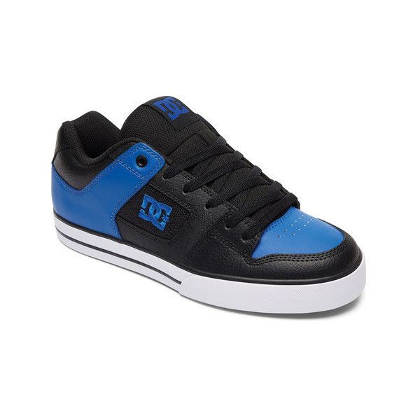 Men's DC Shoes Pure Skate Shoe ($65) ❤ liked on Polyvore featuring men's fashion, men's shoes, men's sneakers, athletic, lace up shoes, mens shoes, mens breathable shoes, mens lace up shoes, mens skate shoes and mens perforated shoes