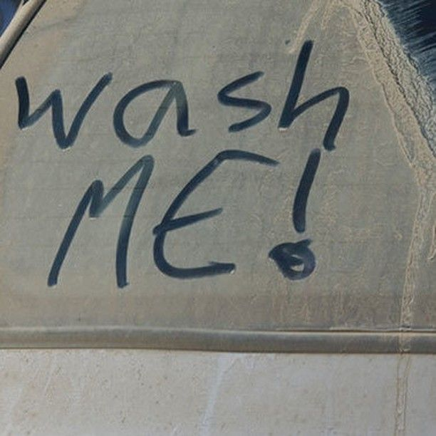 """Listen to your vehicle what's it telling you...""""wash me!"""" #YYC #YYCBusiness #YYCCarWash #YYCCarCleaning #CarWash #Clean#Detailed"""
