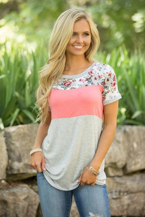 Run To My Dreams Blouse Coral