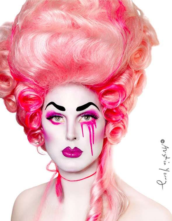 Diva Drag Queen Portraits  Austin Young Lenses Highly Colorful Characters  www.trendhunters.com