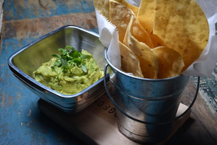At Painted Burro in Somerville, guacamole comes in a number of versions. The best is just avocado, cilantro, salt, and onion.