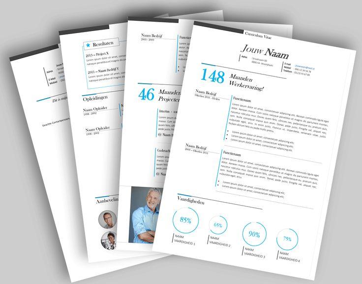CV template 2016. Laat de lay-out van je CV pimpen en eventueel de tekst optimaliseren. www.mooicv.nl