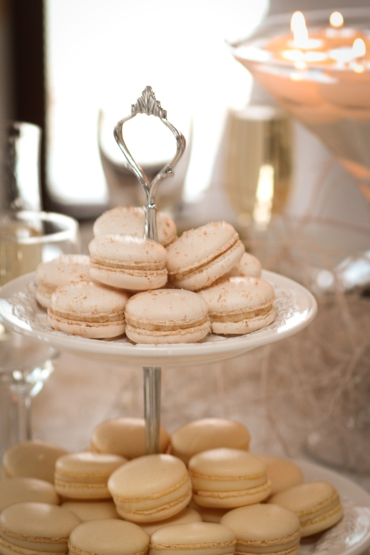 Wedding macarons (can be made to match the wedding colors)