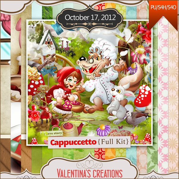 Cappuccetto {Kit} by Valentina's Creations