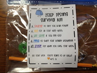 I think I'm going to try to put one of these together for all my kids this weekend. Every bit of encouragement can only help!