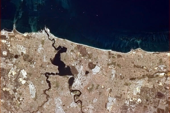 Perth from the ISS