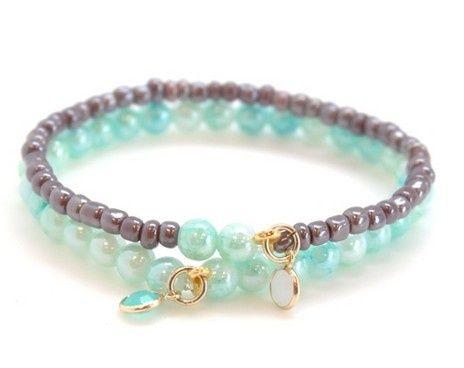 Armband leuk B | `t Kralenstulpje | Sieraden maken | Verkoop kralen | organza kadozakjes | prijslabels