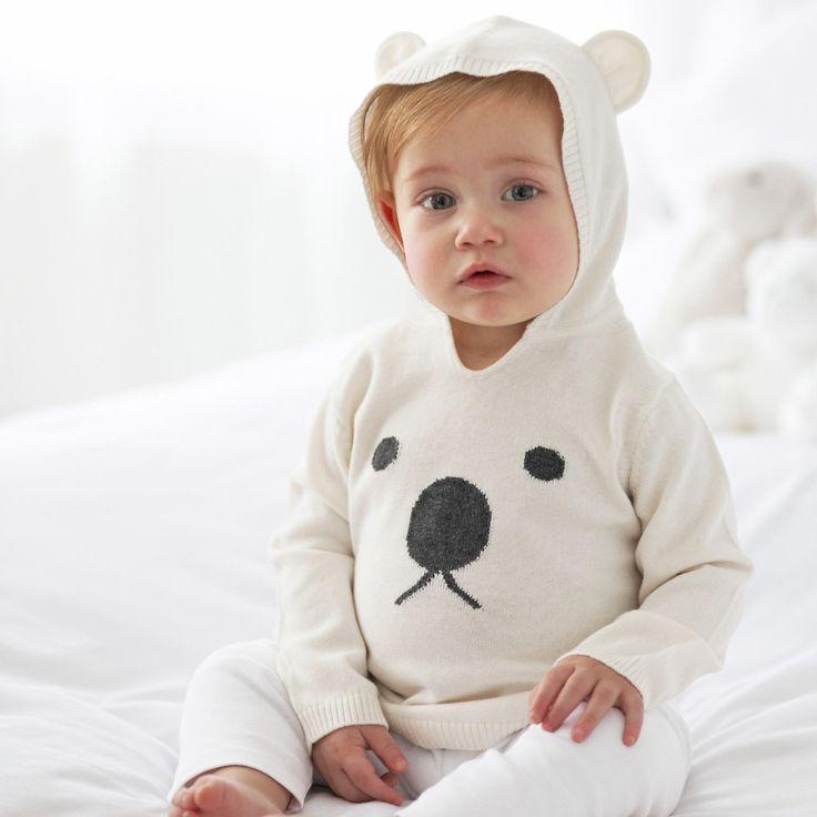 Bear Hoodie | The White Company