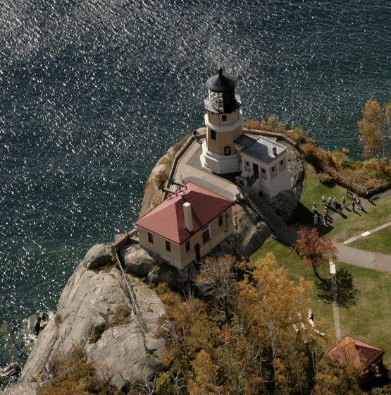 lighthouses two harbors minnesota | Split Rock Lighthouse, Two Harbors, MN | iWasThere