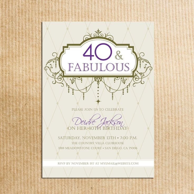 40 Best American Stationery Gifts Images On Pinterest: 1000+ Ideas About 40th Birthday Cards On Pinterest