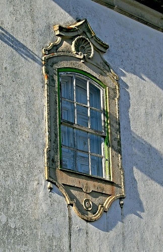 Old Window  Viseu  Portugal