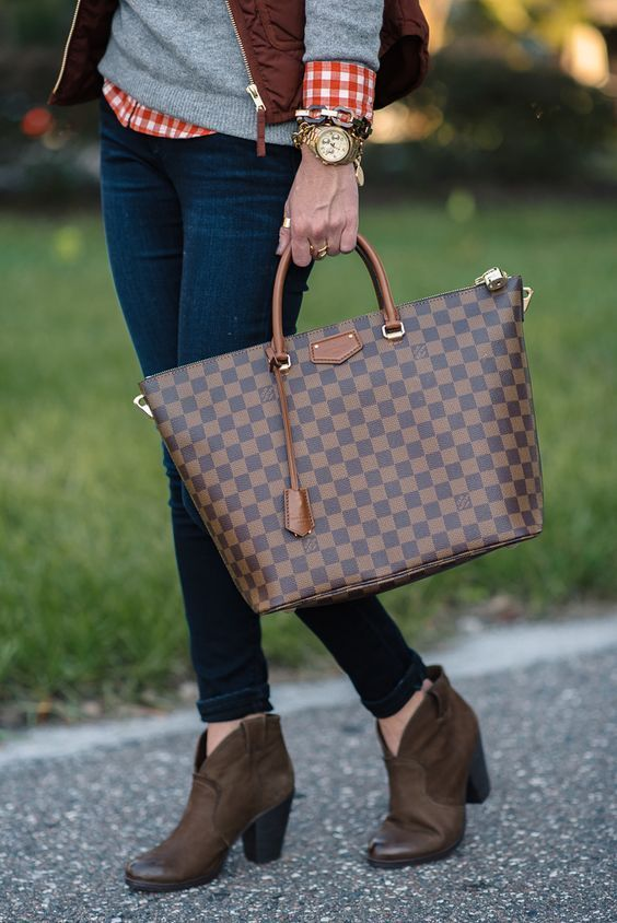 Louis  Vuitton  Handbags LV Women Leather Shoulder Bag Tote Handbag For  2019 Women  Fashion Style 7260cc67c1fe7