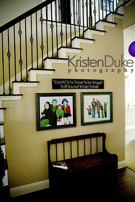 Photography with Kristen Duke~Decorating with Portraits - The Idea Room
