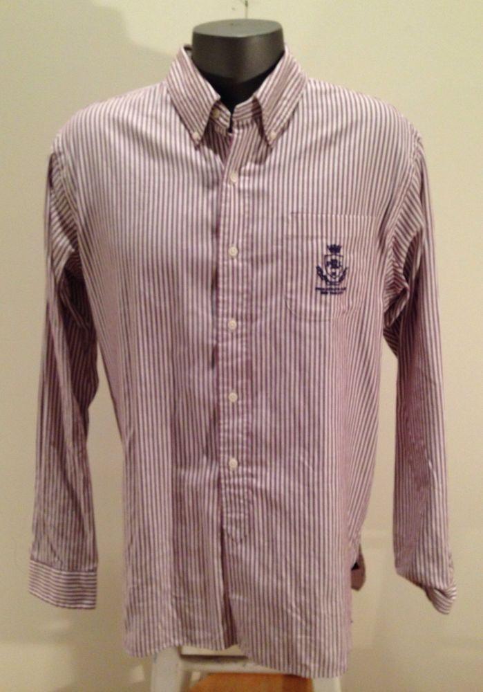 Ralph lauren mens polo custom fit button down dress shirt for Custom fit dress shirts