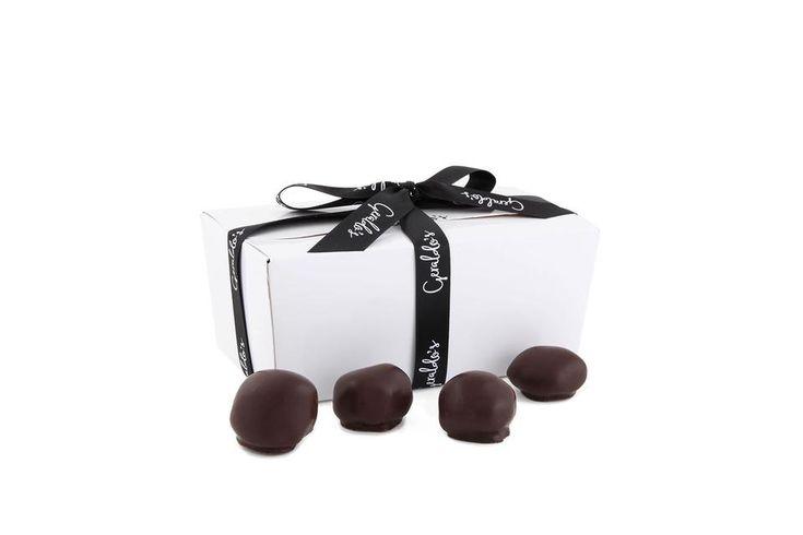 Ballotin Gift Box of Chocolate Covered Stem Gingers