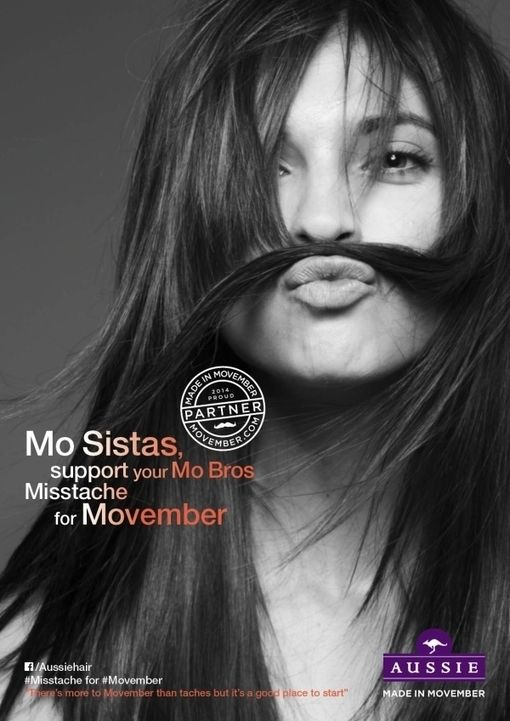Lets support the guys this November , #MovemberMisstaches