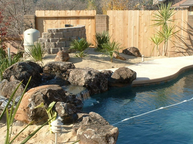 Landscaping Ideas To Hide Pool Equipment screen partition to hide our pool equipment very pleased with this trex decking Wall To Hide Pool Pump Just Need Lights For At Night