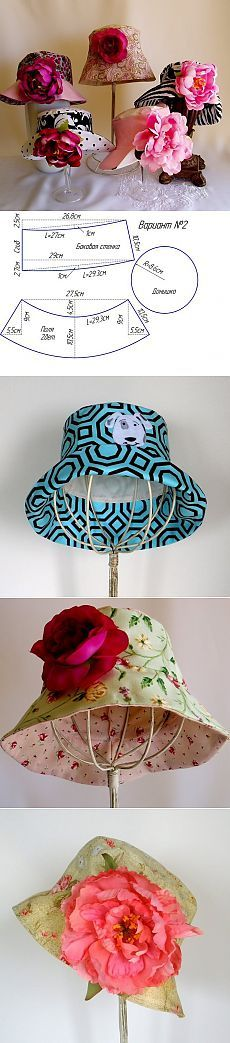 Sew hat. Patterns ..