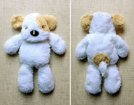 """Puppy Toy Free Tutorial and PDF Template ( at the end of the Post click: """"Studio Pup pattern HERE"""") http://justsomethingimade.com/2013/06/michaels-craft-fabric-and-the-studio-pup/"""