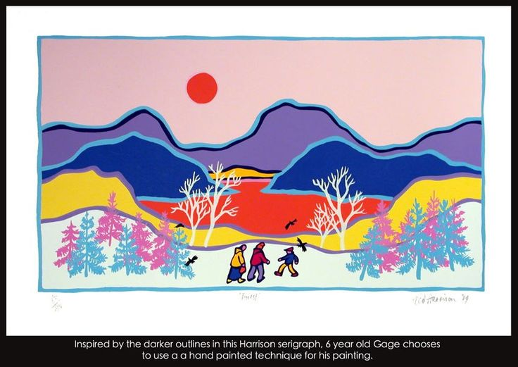 inspiration ted harrison