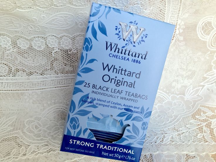 Whittard Whittard Original。ケニア・アッサム・セイロンのブレンド。ケニアがメインなので、アッサムの渋みはあるが適度。まろやかさもある。渋いのが苦手な人の目覚まし紅茶になりそう。甘いものを食べる時もサッパリさせてくれる。