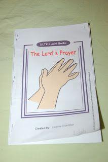 Teaching the Lord's Prayer to Littles - In Lieu of Preschool
