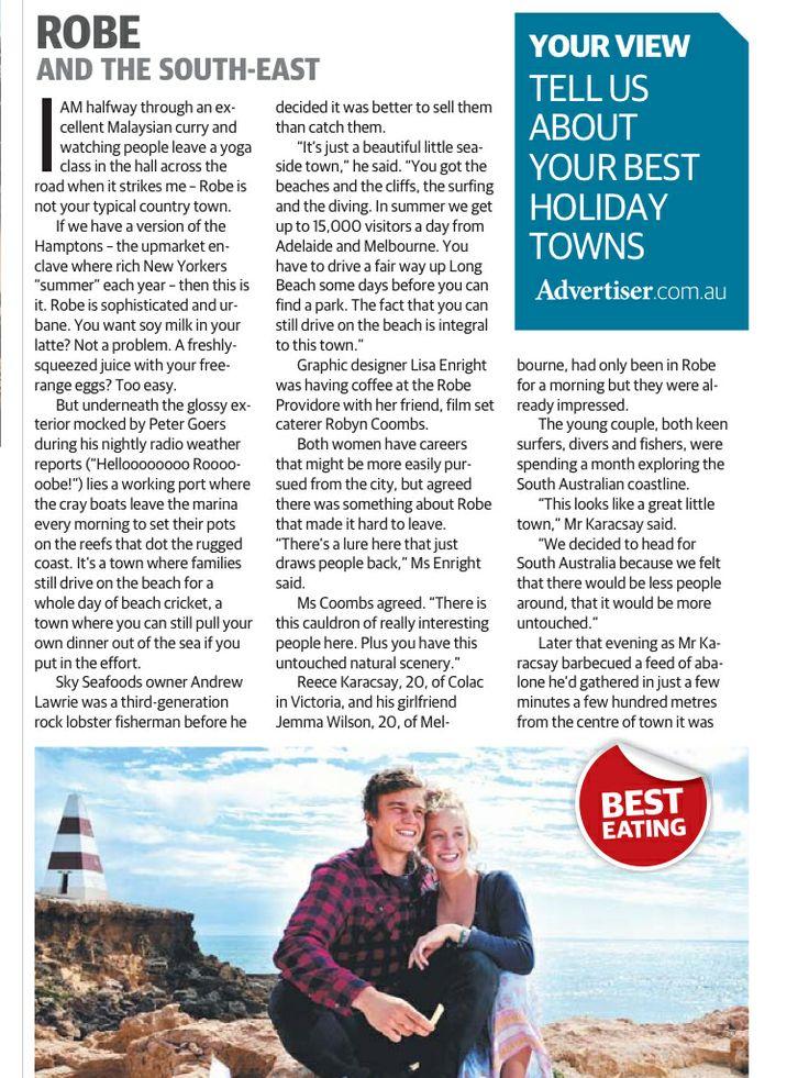 Robe, the best summer seaside getaway in South Australia