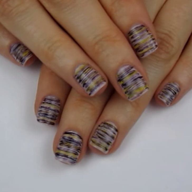 Discover the Dental Tool That Makes Striped Nail Art in Seconds
