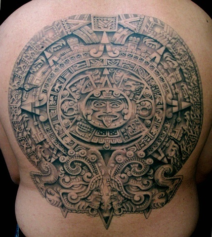 17 best images about azrec tattoo on pinterest aztec tribal tattoos indian tattoos and maya. Black Bedroom Furniture Sets. Home Design Ideas