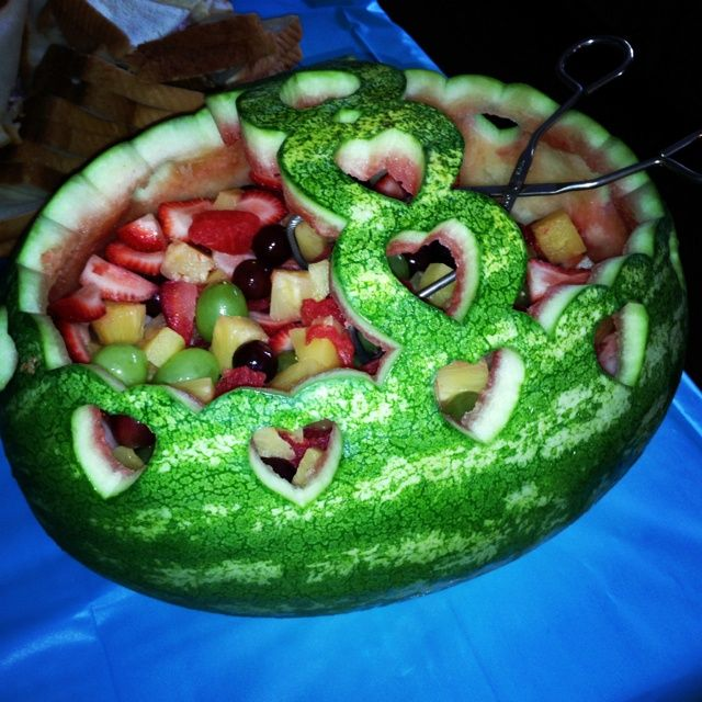 Watermelon designs for bridal shower my step dads