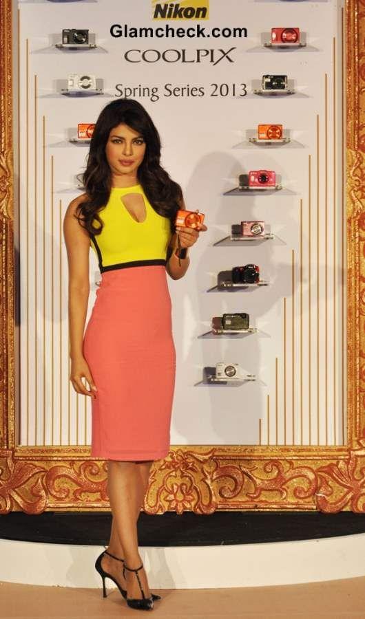 Priyanka Chopra Classy in a Sheath Dress