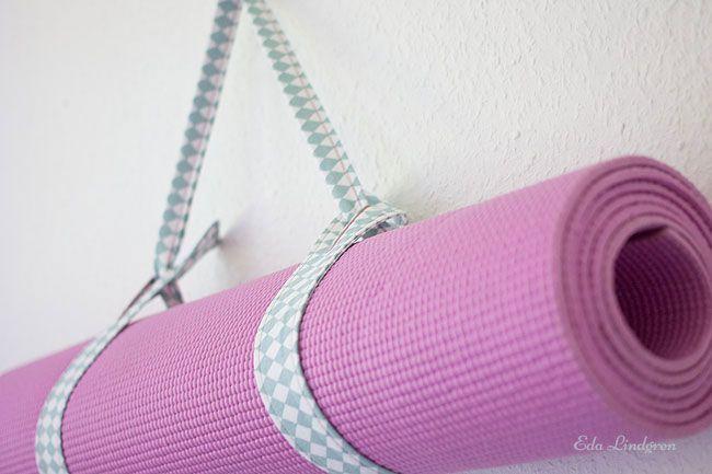 Nähanleitung: Tragegurt für Yogamatte - Eda Lindgren